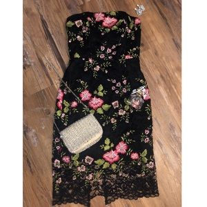 Adelyn Rae Lace Floral Dress